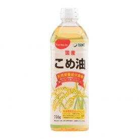 築野食品工業 TSUNO こめ油 750g×12本 [ラッピング不可][代引不可][同梱不可]