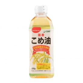 築野食品工業 TSUNO こめ油 500g×12本 [ラッピング不可][代引不可][同梱不可]