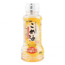 築野食品工業 TSUNO こめ油 180g×12本 [ラッピング不可][代引不可][同梱不可]