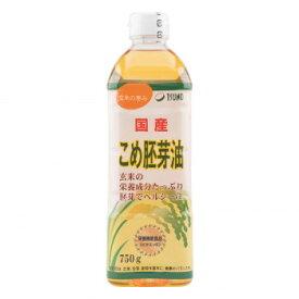 築野食品工業 TSUNO こめ胚芽油 750g×12本 [ラッピング不可][代引不可][同梱不可]