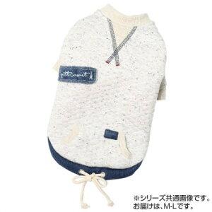 ペット・クイーン Sweat-shirt(トレーナー)ニットキルトトレーナー M-L オートミール 837412