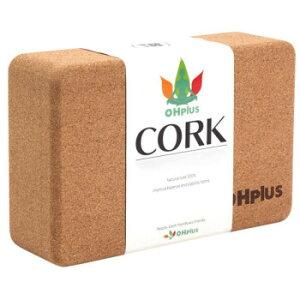 OHplus(オーエイチプラス) ヨガブロック 天然コルク nk2229-cork