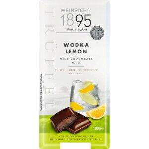 ワインリッヒ ウォッカ レモン チョコレート 100g 120セット [ラッピング不可][代引不可][同梱不可]