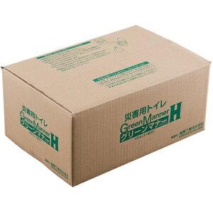 進展工業 もみがら入簡易トイレ グリーンマナー 100袋セット 4566 [キャンセル・変更・返品不可]