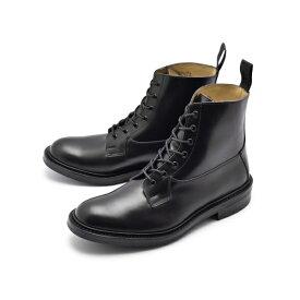 [トリッカーズ] S) 5635 6 ブーツ バーフォード カジュアルシューズ ブラック メンズ [キャンセル・変更・返品不可]