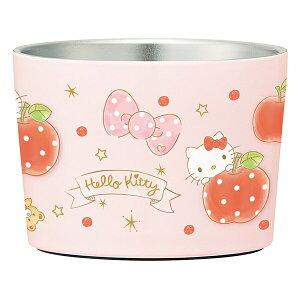 ハローキティ ハピネスガール アイスクリームミニカップ用ステンレス真空カップ [キャンセル・変更・返品不可]