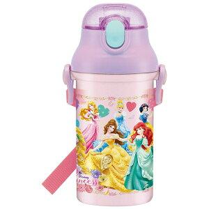 プリンセス 食洗機対応プラ製プッシュ式ストローボトル [キャンセル・変更・返品不可]