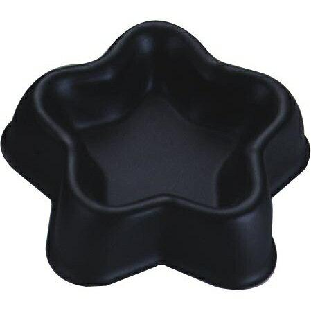 【Black フルーツケーキ型 星(5070)】[返品・交換・キャンセル不可]