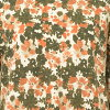 Tunic M L Lady's tops seven minutes sleeve floral design [cancellation, change, returned goods impossibility]