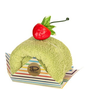 抹茶 今治 ケーキタオル ロールケーキ ハンカチ雑貨 お返し プチギフト [日本製] [キャンセル・変更・返品不可]