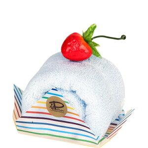 ミント 今治 ケーキタオル ロールケーキ ハンカチ雑貨 お返し プチギフト [日本製] [キャンセル・変更・返品不可]