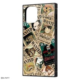 iPhone 12 mini /ワンピース/耐衝撃ハイブリッドケース KAKU/手配書 [キャンセル・変更・返品不可]