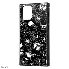 iPhone 12 mini /ワンピース/耐衝撃ハイブリッドケース KAKU/海賊旗マーク [キャンセル・変更・返品不可]