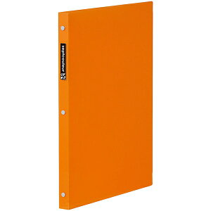 マルマン A4 プラスチックバインダー スリム セプトクルール オレンジ [F481B-09] [キャンセル・変更・返品不可]
