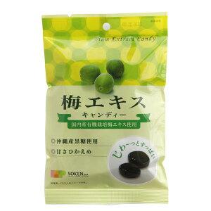 国内産有機栽培梅エキス使用 梅エキスキャンディー 単品 [キャンセル・変更・返品不可]