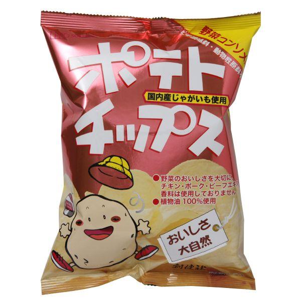 ポテトチップス 野菜コンソメ味 60g 単品 [キャンセル・変更・返品不可]