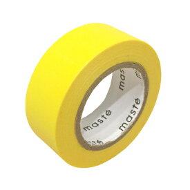 [マークス] 水性ペンで書けるマスキングテープ/小巻/イエロー [キャンセル・変更・返品不可]