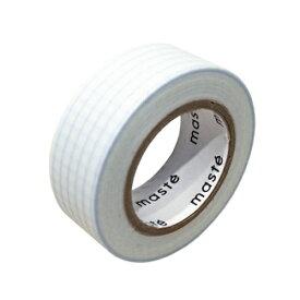 [マークス] 水性ペンで書けるマスキングテープ/小巻/方眼ブルーグレー [キャンセル・変更・返品不可]