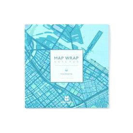 [ゼンリン] MAP WRAP NOTEPAD ノート [mati mati シリーズ 横浜] [キャンセル・変更・返品不可]