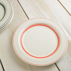 サイドストリート 20cmケーキ皿 ソーバーオレンジ ※B級品(アウトレット品) [キャンセル・変更・返品不可]
