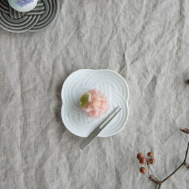 小田陶器 結(musubi) 10.8cm小皿 白 [キャンセル・変更・返品不可]