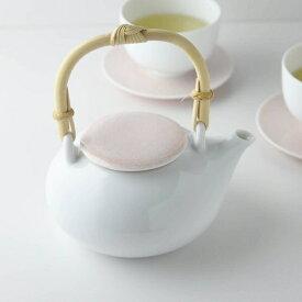 深山(miyama.) casane te-かさね茶器- 土瓶 小桜柄・桃釉 [キャンセル・変更・返品不可]