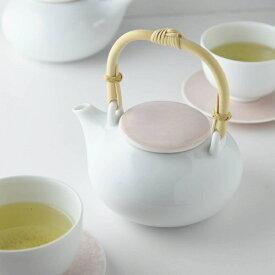 深山(miyama.) casane te-かさね茶器- 土瓶 桜柄・桃釉 [キャンセル・変更・返品不可]