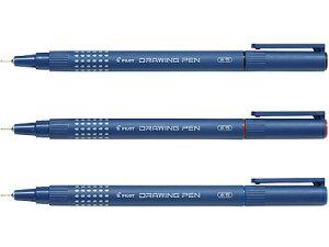 パイロット ドローイングペン / ドローイングペン 08(S-15DRN8)【PILOT DRAWING PEN 0.8mm 水性 筆記具 事務用品 デザイン おしゃれ】