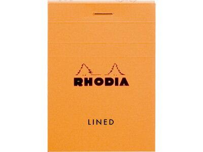 ロディアRHODIA/ブロックロディアNo.11A7サイズ(オレンジ・横罫線)(cf11600)