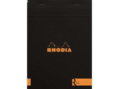 ロディアRHODIA/ブロックRNo.16A5サイズ(ブラック・横罫線)(cf162012)