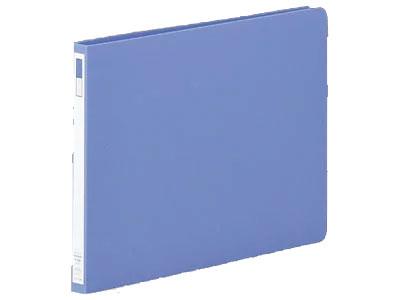 リヒトラブ スナッチファイル A4 ヨコ型 2穴 背幅19mm 藍(F-537)【LIHIT LAB. 穴をあけて閉じるファイル レターファイル】