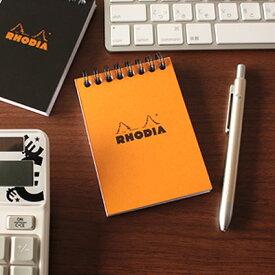 【メール便可 4冊まで】ロディア RHODIA / ノートパッド A7サイズ (オレンジ・5mm方眼)(cf11500)【メモ帳 リングノート デザイン おしゃれ】
