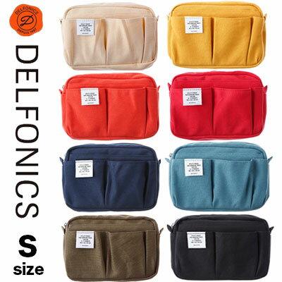 バッグインバッグ小さめ軽いデルフォニックスインナーキャリングS(500091)DELFONICSポーチ小物入れデザインおしゃれかわいい