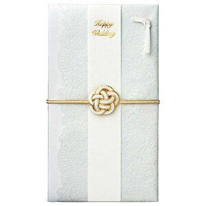 【メール便可 5個まで】【ご祝儀袋・金封】マークス MARK'S / 結婚祝・レース(ホワイト)(KNP-GB108-WH)【祝儀袋 デザイン おしゃれ かわいい】