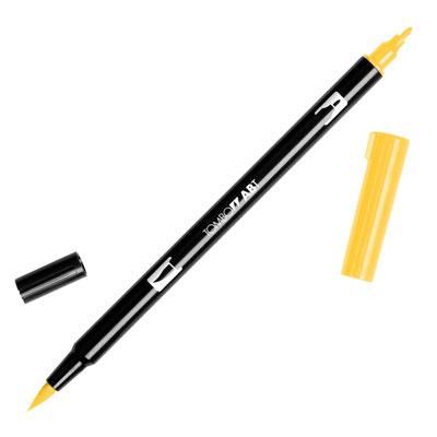 トンボ鉛筆 TOMBOW / デュアル ブラッシュペン AB-T 025 Light Orange (水性マーカー全95色) (AB-T025)【水性マーカー カラー筆ペン グラフィック マーカー アート】