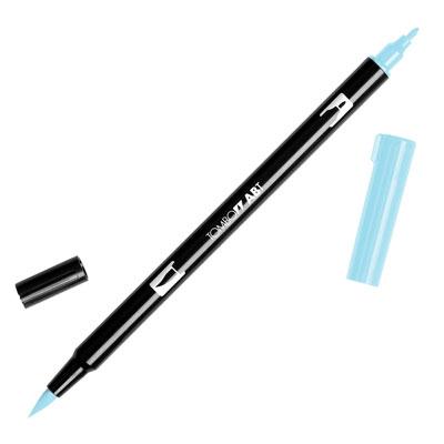 トンボ鉛筆 TOMBOW / デュアル ブラッシュペン AB-T 491 Glacier Blue (水性マーカー全95色) (AB-T491)【水性マーカー カラー筆ペン グラフィック マーカー アート】