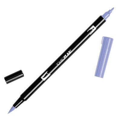 トンボ鉛筆 TOMBOW / デュアル ブラッシュペン AB-T 623 Purple Sage (水性マーカー全95色) (AB-T623)【水性マーカー カラー筆ペン グラフィック マーカー アート】