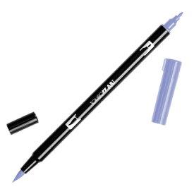 【メール便可 10本まで】トンボ鉛筆 TOMBOW / デュアル ブラッシュペン AB-T 623 Purple Sage (水性マーカー全108色) (AB-T623)【水性マーカー カラー筆ペン グラフィック マーカー アート】