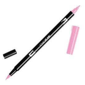 【メール便可 10本まで】トンボ鉛筆 TOMBOW / デュアル ブラッシュペン AB-T 723 Pink (水性マーカー全108色) (AB-T723)【水性マーカー カラー筆ペン グラフィック マーカー アート】