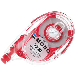 トンボ鉛筆 モノYX5 テープ幅5mm (CT-YX5)(A-47506)【TOMBOW MONO YX CORRECTION TAPE 修正テープ 詰め替えタイプ】
