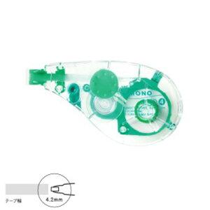 トンボ鉛筆 モノエルゴN4 テープ幅4.2mm (CT-YUXN4)(A-26879)【TOMBOW MONO ergo CORRECTION TAPE 修正テープ 詰め替えタイプ】