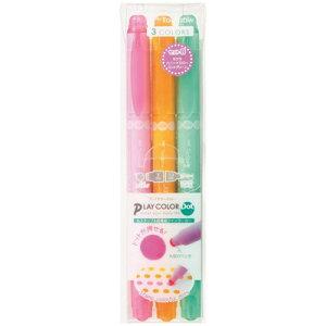 トンボ鉛筆 水性マーカー プレイカラードット 3色セットB(GCE-311B)(A-35472)【TOMBOW MARKING PEN PLAY COLOR Dot 水性マーキングペン】