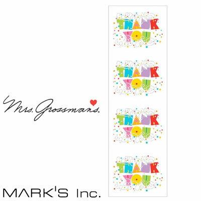 ステッカーシールマークスMスタンダードフロストドーナツミセスグロスマンMARK'S(GRS-ST01-33)【デコレーションデザインおしゃれかわいいカラフル】