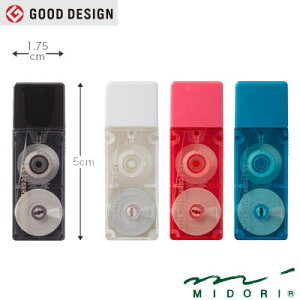 ミドリ MIDORI / XS修正テープ (35262006〜35265006)
