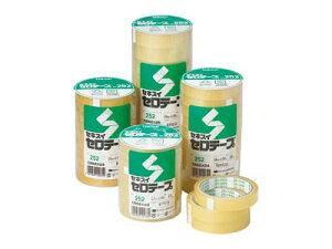 セキスイ / セキスイセロテープ No.252 (大巻・幅15mm x 長さ35m) 10巻入り (C252X23)(A-21281)