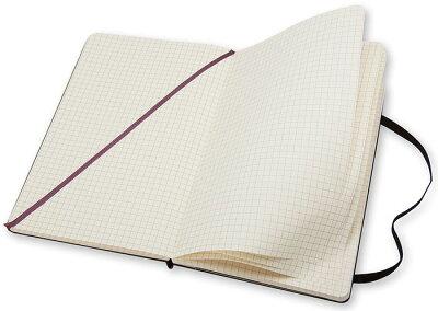 【ポイント10倍!!】モレスキンMOLESKINE/クラシックノートブックハードカバー(ラージサイズ)方眼ノート(408887)