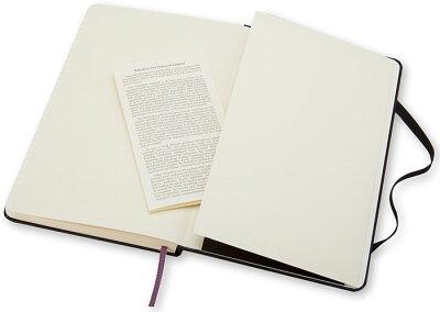 【ポイント10倍!!】モレスキンMOLESKINE/クラシックノートブックハードカバー(ラージサイズ)横罫ノート(408863)