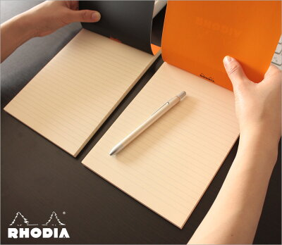 【ポイント10倍!!】ロディアRHODIA/ブロックRNo.16A5サイズ(ブラック・横罫線)(cf162012)