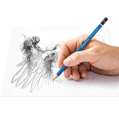 【メール便可5個まで】ステッドラー鉛筆/ステッドラーSTAEDTLERルモグラフ製図用高級鉛筆6硬度セット(8B7B6B4B2BHB)(100G6)【製図えんぴつデザインおしゃれ輸入ドイツ】