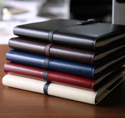システム手帳A5本革バインデックスBindexアルモA15ネイビーデスクサイズリング15mm(AA98-2)【システム手帳革紺デザインおしゃれギフト】